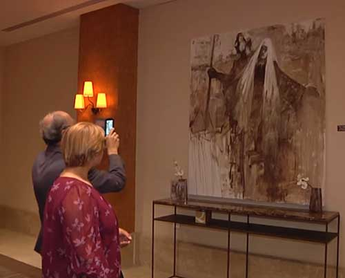 Art-Exhibitions at Alqasr Hotel